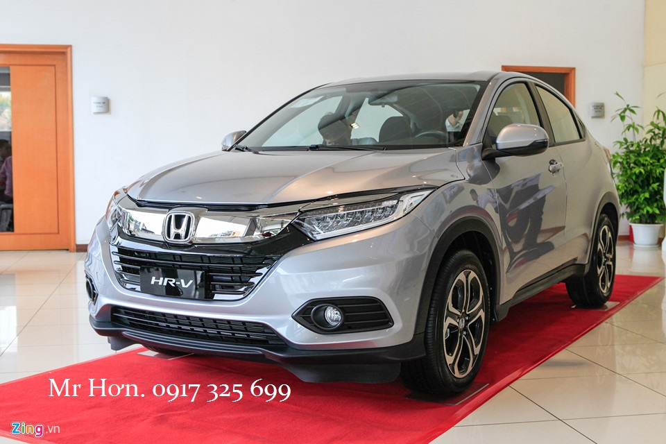 Giá xe Honda HRV 2018 màu bạc | Honda Tây Hồ - 0917 325 699