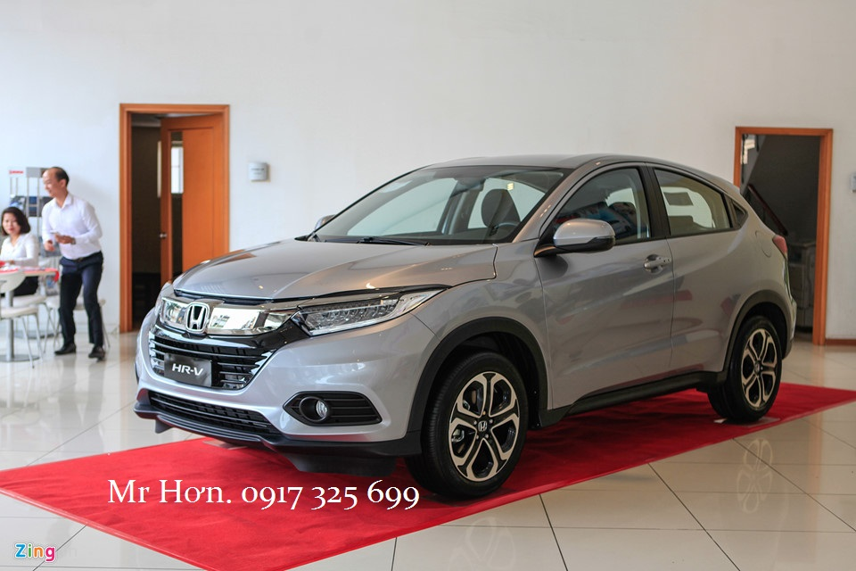 Honda HRV 2019 màu bạc mới