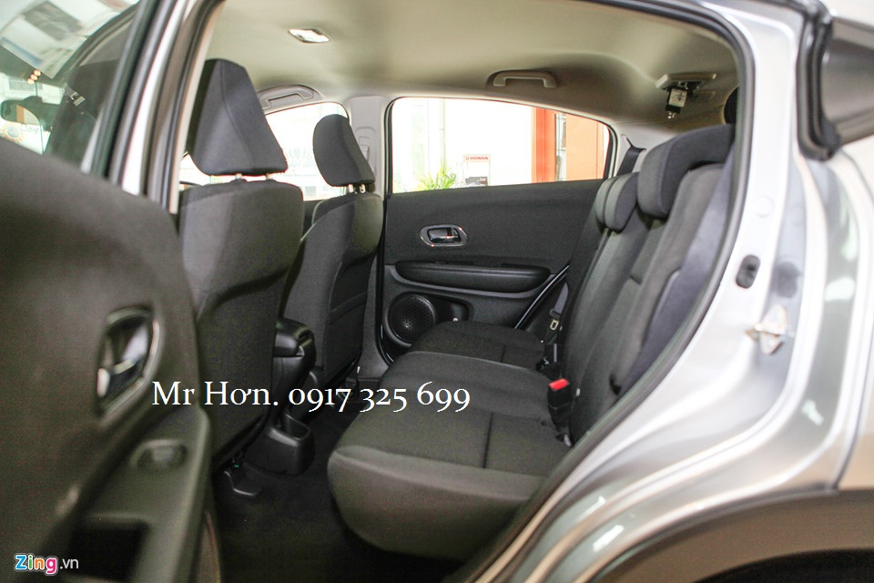 Hàng ghế sau Honda HRV 2019
