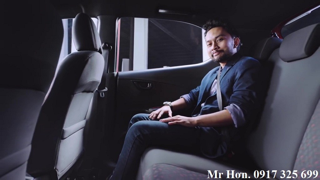 Hàng ghế sau Honda Brio 2019