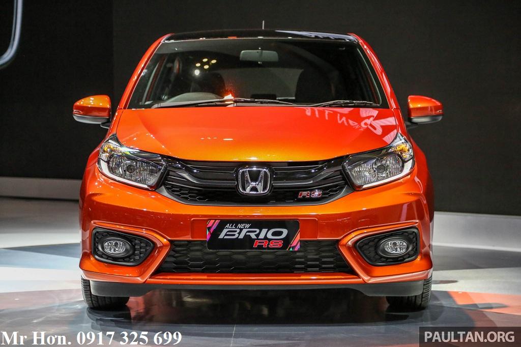 Giá xe Honda Brio 2019 màu đỏ cam